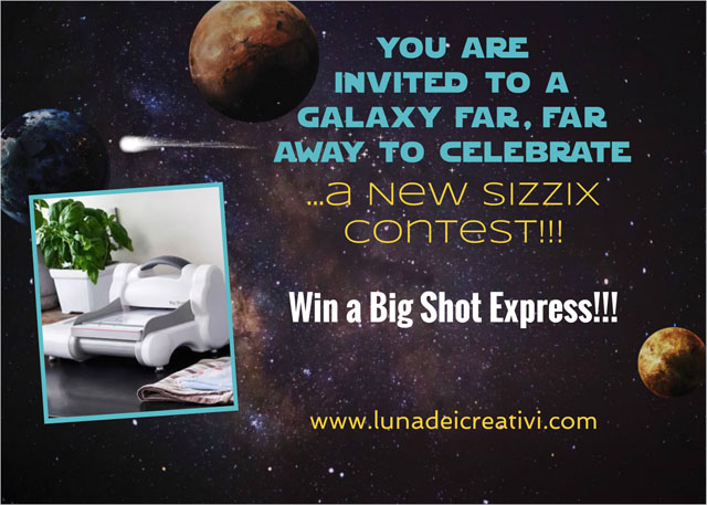 Nuevo Contest Sizzix: Una Big Shot Express de Regalo!