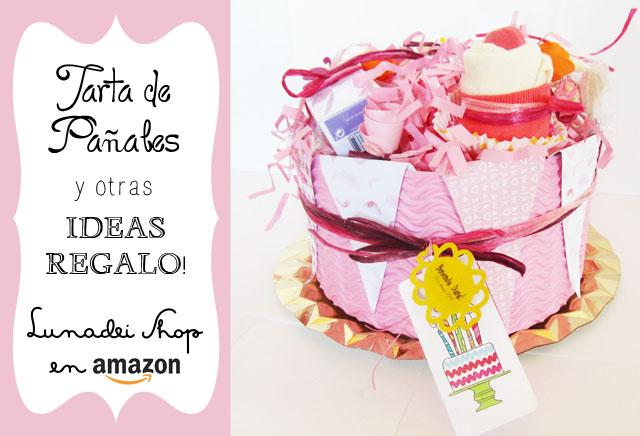Tartas de Pañales y Otras ideas Regalo: Estrenamos Tienda en Amazon!