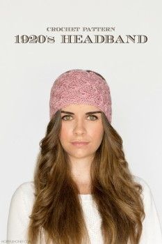 1920's Lace Headband Crochet Pattern 4